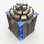 Christmas BOX Closed4 Cała wełna 3d model