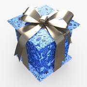 Christmas BOX Closed4 Wełna wstążka 3d model