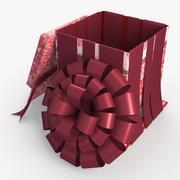 Christmas BOX Open Wszystkie wełny 3d model