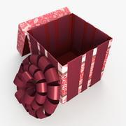Christmas BOX Open2 Cała wełna 3d model