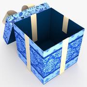 Świąteczna wełna BOX Open2 Ribbon 3d model