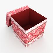 Christmas BOX Open2 wełna 3d model