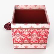 Christmas BOX Open3 wełna 3d model