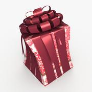 Christmas BOX Toon Cała wełna 3d model