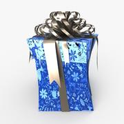 Christmas BOX Toon Ribbon2 wełna 3d model