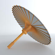 Guarda-chuva chinês 3d model