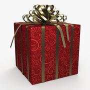 Kerstdoos lint 2 3d model