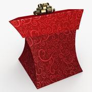 クリスマスBOXトゥーン 3d model