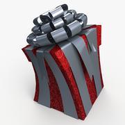 Рождество BOX Toon ленты 3d model