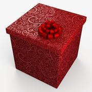 Christmas BOX Closed 3d model