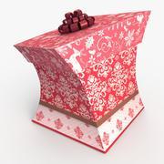 Christmas BOX Toon wełna 3d model