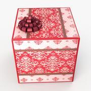 Świąteczna wełna BOX 3d model