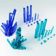 水晶 3d model