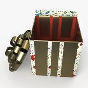 Christmas BOX Open2 Cała sztuka 3d model