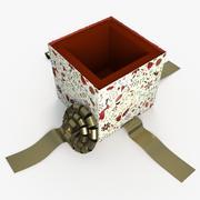 Christmas BOX Open4 Cała sztuka 3d model
