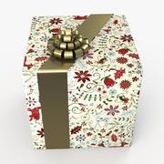 Рождество BOX Tape art 3d model