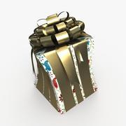 Christmas BOX Toon Cała sztuka 3d model
