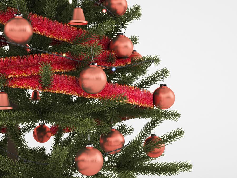 árvore de Natal royalty-free 3d model - Preview no. 4