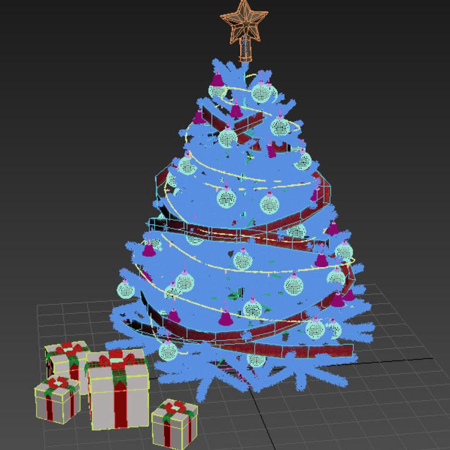 árvore de Natal royalty-free 3d model - Preview no. 7