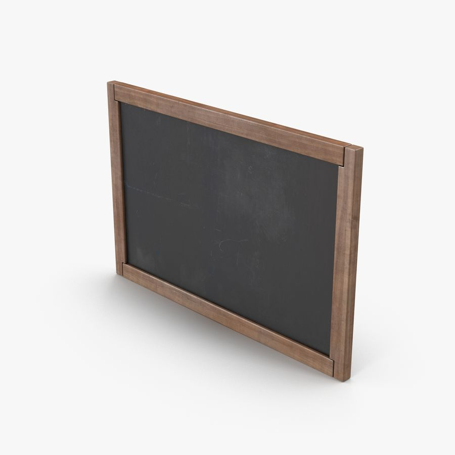 Chalkboard royalty-free 3d model - Preview no. 1