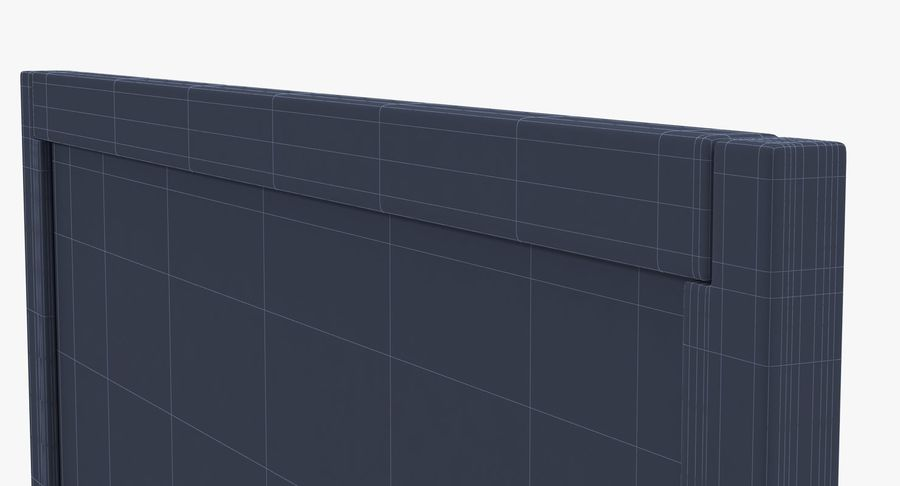 Chalkboard royalty-free 3d model - Preview no. 6
