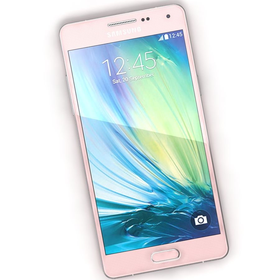 Samsung Galaxy A5 Pink royalty-free 3d model - Preview no. 4