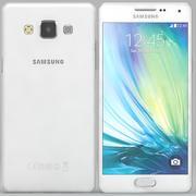 Samsung Galaxy A5 Branco 3d model