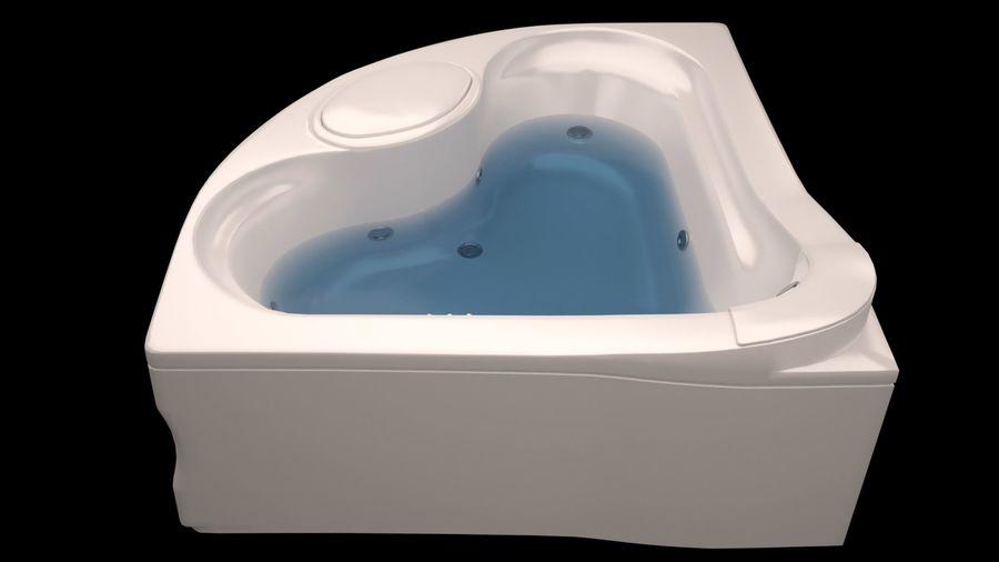 banho de canto royalty-free 3d model - Preview no. 1
