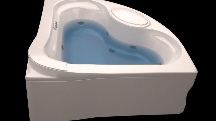 banho de canto royalty-free 3d model - Preview no. 5