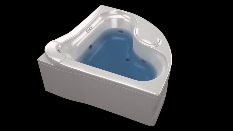 banho de canto royalty-free 3d model - Preview no. 6