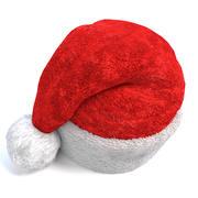 Weihnachtsmann Mütze 3d model