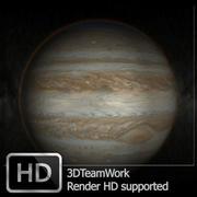 Jupiter HD (Suport Full HD Render) 3d model