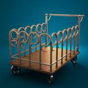 Copper Cart 3d model