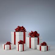 クリスマスプレゼント 3d model