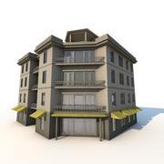 Apartamento en esquina modelo 3d