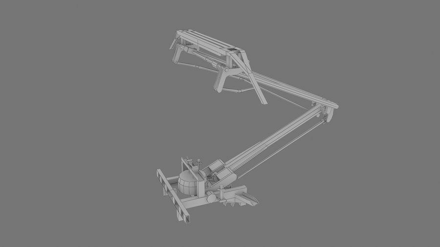 TA del pantografo 10 01 royalty-free 3d model - Preview no. 5