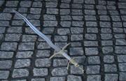 Bot zwaard 3d model