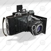 Vintage photo camera 3d model