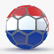 Fußball Fantasie Kroatien 3d model