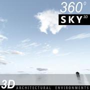 Sky 3D Day 124 3d model
