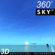 Sky 3D Day 138 3d model