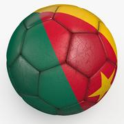 Soccerball pro Kameroen 3d model