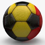Soccerball Belgium 3d model