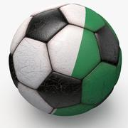 足球科特迪瓦 3d model