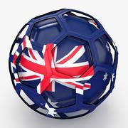 Programa de TV de Soccerball na Austrália 3d model