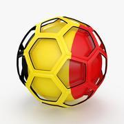 Émission de football de Belgique 3d model