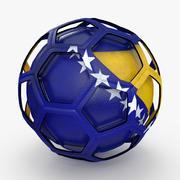 足球电视节目波斯尼亚黑塞哥维那 3d model