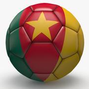 Soccerball pro sauber Kamerun 3d model