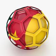 Soccerball TV show Cameroon 3d model