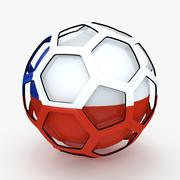 Soccerball TV show Chile 3d model
